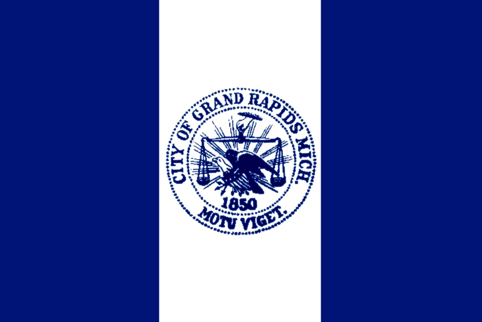 Flag of Grand Rapids, Michigan