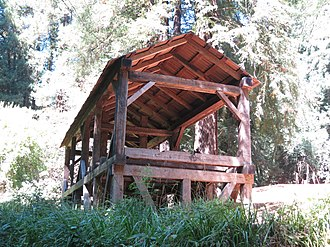 California Historical Landmarks in Marin County - Image: Old Mill Park Mill Valley Florin WLM 8