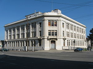 Pier 70, San Francisco - Bethlehem Steel's Administration building.