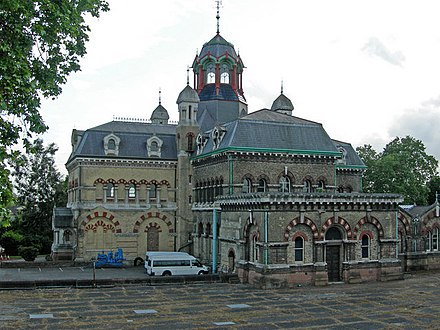 The Old Abbey Mills Pumping Station in Abbey Lane Old Abbey Mills Pumping Station, Stratford. - geograph.org.uk - 445286.jpg