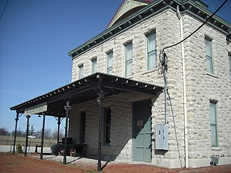 Ottawa, Kansas - Old Depot Museum built in 1888 (photo from 2008)