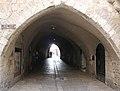 Old Jerusalem Jewish quarter Habad street arches.jpg