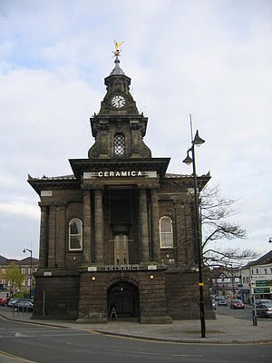 Federation of Stoke-on-Trent - Image: Old Town Hall, Burslem geograph.org.uk 272797