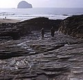 Old cart track at Trebarwith - geograph.org.uk - 702228.jpg