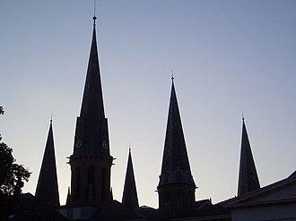 St Lambert's Church, Oldenburg - Image: Oldenburg Lamberti Towers
