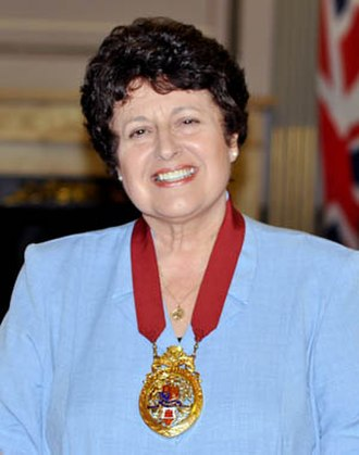 Mayor of Gibraltar - Olga Zammitt, OBE, JP