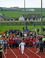 Olympic Torch Relay, Pickaquoy Centre, Kirkwall, Orkney (geograph 3002617).jpg