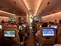 On board of Emirates airline Brisbane, Australia - Warsaw, Poland.jpg