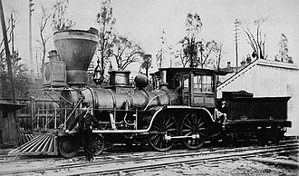 Northern Railway of Canada - Lady Elgin, Engine No. 1 of the Ontario, Simcoe and Huron Union Railroad.