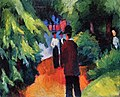 Ontbyaugustmacke. the-museum-outlet-park-on-the-waterfront-by-august-macke-canvas-painting.jpg