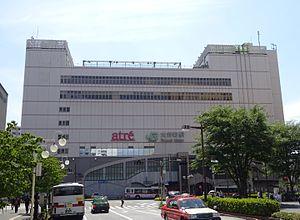 """车站大楼""""atre大井町""""(2016年6月4日)"""