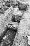 opgraving bij rechter zijgevel achter - oud-valkenburg - 20180689 - rce