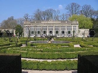 Jeffry Wyatville - Image: Orangery and maze Longleat