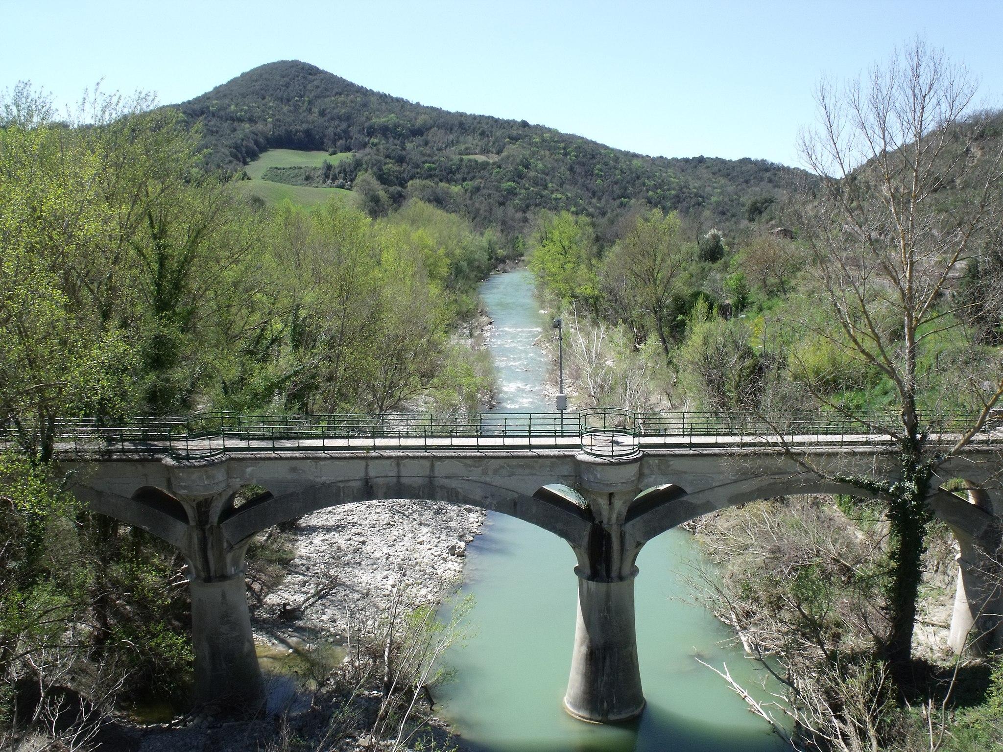 Acquedotto del Vivo (Acquedotto di Siena) in Monte Amiata Scal