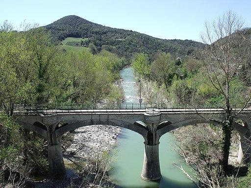 Acquedotto del Vivo (Acquedotto di Siena) in Monte Amiata Scalo