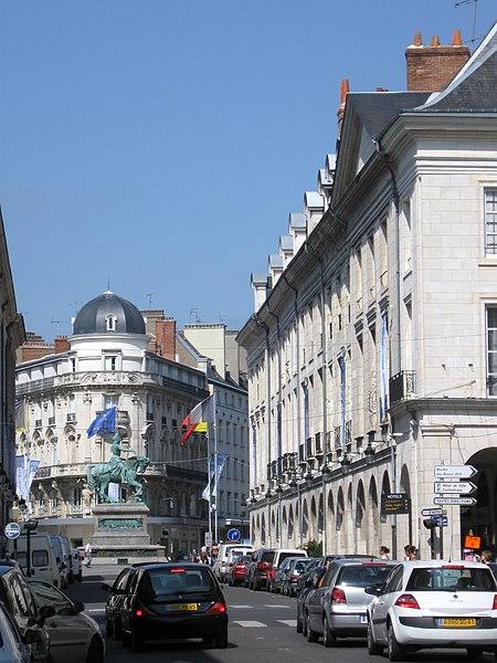 Rue Royale, Orléans, Loiret, France
