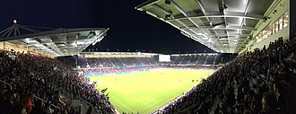 Soccer-specific stadium - Orlando City Stadium, home of Orlando City SC, is a soccer-specific stadium