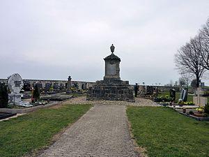 Georges de Bièvre - His grave