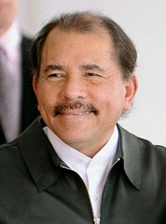 Daniel Ortega President of Nicaragua
