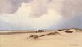 Oscar Herschend - Strandparti fra Klitmøller - 1889.png