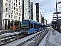 Oslo tram line 18 at Bjørvika 01.jpg