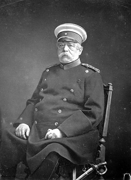 Otto von Bismarck, a German statesman often associated with Realpolitik
