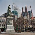 Overzicht linkerzijde standbeeld Willem van Oranje - 's-Gravenhage - 20363352 - RCE.jpg