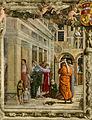 Ovetari, san giacomo 03, San Giacomo battezza Ermogene di Andrea Mantegna.jpg