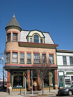 Oyster Bay Moore's Building in 2008b.jpg