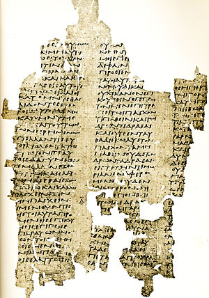 Sophistic works of Antiphon - A third-century AD papyrus attributed to the first book of On Truth (P.Oxy. XI 1364 fr. 1, cols. v–vii)