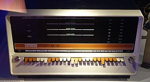 PDP-8 - Image: PDP 8 S, Digital Equipment Corporation, launched in 1965, TM44346 Tekniska museet Stockholm, Sweden DSC01518