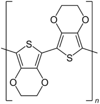 Image illustrative de l'article Poly(3,4-éthylènedioxythiophène)