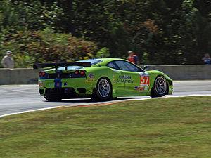 Krohn Racing - Krohn's Ferrari F430 at the 2011 Petit Le Mans