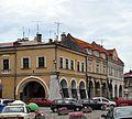 PL - Jarosław kamienice Rynek 14, 13, 12- Kroton 001.jpg