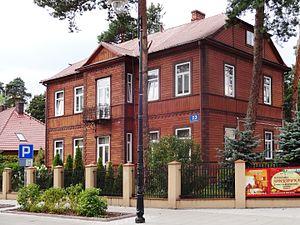 Otwock - Świdermajer-styled house in Otwock