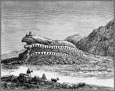 PSM V41 D049 Ghmrassen in the ourghemma southern tunis with rock cut dwellings.jpg