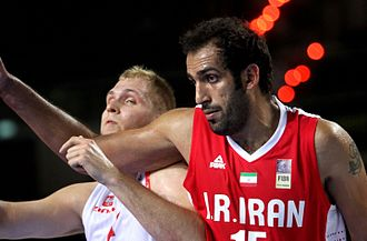 Hamed Haddadi - Haddadi with the national team in 2014.