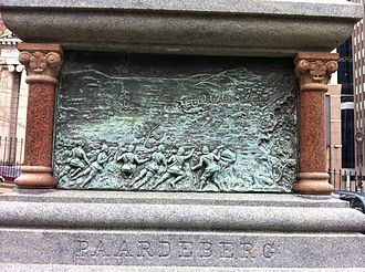South African War Memorial (Halifax) - Image: Paardeberg Monument Halifax Nova Scotia