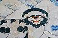 Painting in the entrance of Tashilhunpo Monastery, Shigatse, Tibet (3).jpg