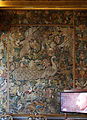 Palazzo colonna, sala dei ricami all'indiana, parati in seta di manifattura iberica (attr. a diego casale), 1650-75 ca. 01.JPG