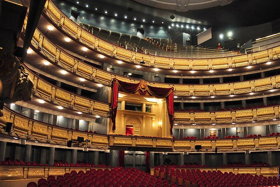 Palco TeatroReal