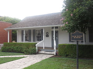Round Rock, Texas - The Palm House Museum in Round Rock, Texas
