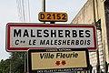 Panneau entrée Malesherbes Malesherbois 2.jpg