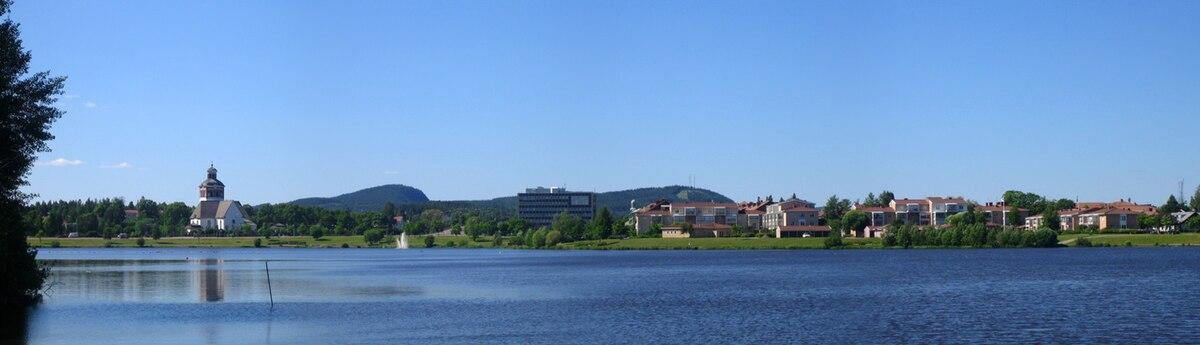 Panorama over Bollnäs