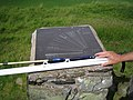 Panoramic Mapping Plate at Norman's Law - geograph.org.uk - 161783.jpg
