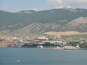 Panoramic view from the east coast of Sudak bay (08).jpg