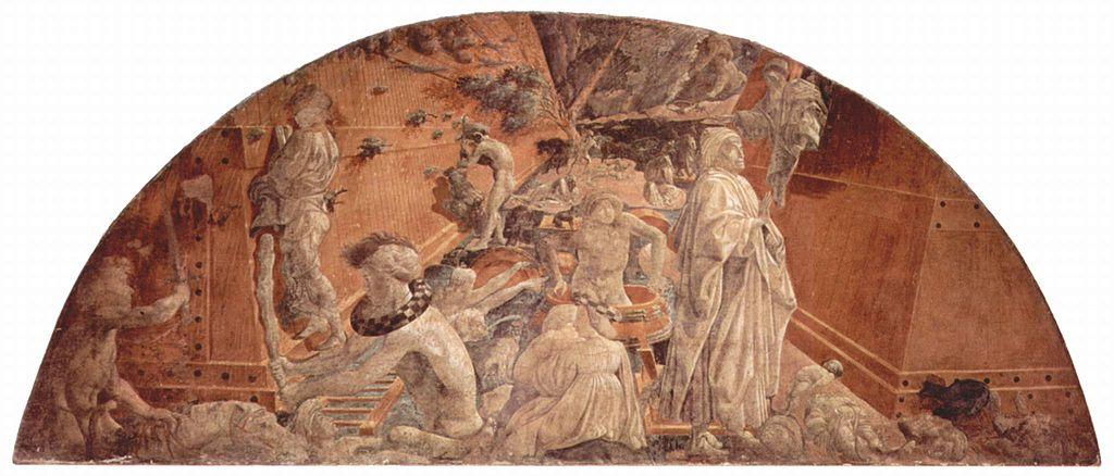ウッチェロの「大洪水と終息」の画像