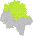 Parçay-Meslay (Indre-et-Loire) dans son Arrondissement.png