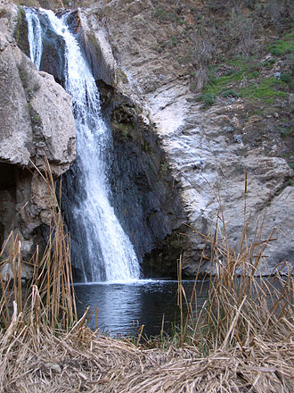Arroyo Conejo - Image: Paradise Falls and pond