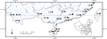 Parasite180107-fig1 - Monogenea of Tilapia in China - map.png